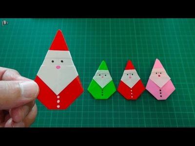 Origami【Christmas.Santa Claus】