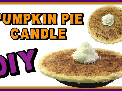 Pumpkin Pie Candle DIY ~ Craft Klatch