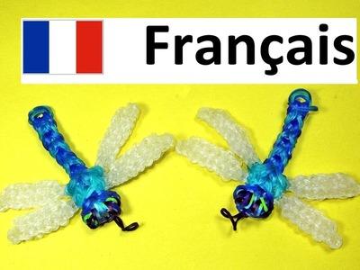 Rainbow Loom Francais - Libellule. Bracelet Elastique (loom bands animaux)