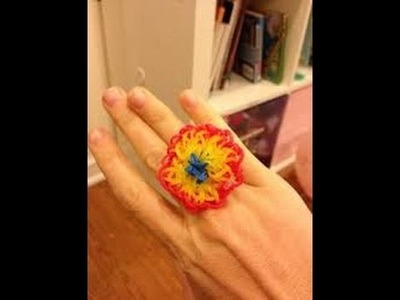 Rainbow loom Nederlands - Rainbow loom Starburst ring