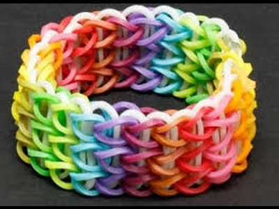 RainBow Loom Netherlands Ladder armband
