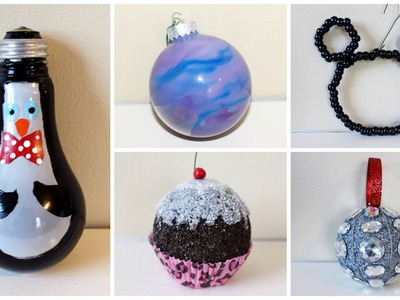 SEVEN CHEAP AND EASY DIY CHRISTMAS ORNAMENTS | 2015
