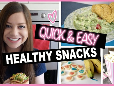 5 Easy Healthy Snack DIY Ideas for After School