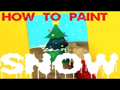 Art Attack | Christmas Painting Tips | Disney India Official