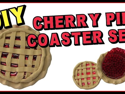 Cherry Pie Coaster DIY ~ Another Coaster Friday Craft Klatch