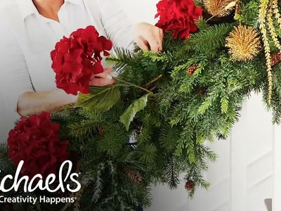 Christmas Banister Ideas | Michaels