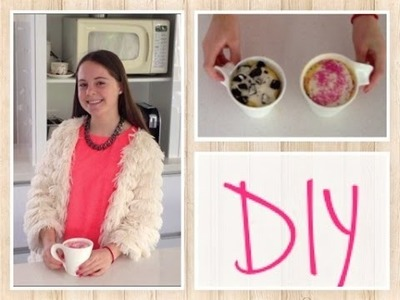 COOKING DIY:: 2 minute mug cakes