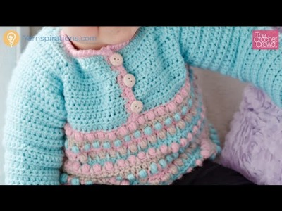 Crochet Baby Sweater Pull Over Tutorial