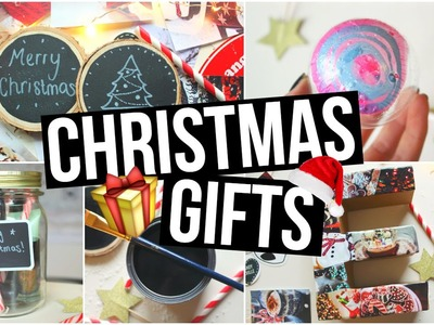 DIY Christmas Gifts! Cute Holiday Present Ideas!