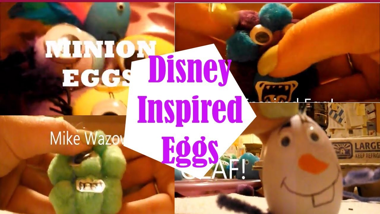 DIY: Disney Inspired Easter Eggs!