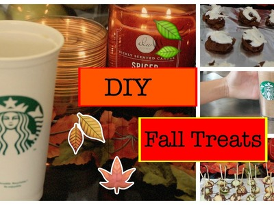Diy Fall Treats I Kaelyn Pannier