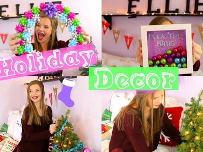 DIY Holiday Room Decor 2015!