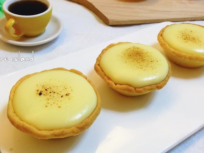 DIY Homemade Baked Lava Cheese Tart | d for delicious