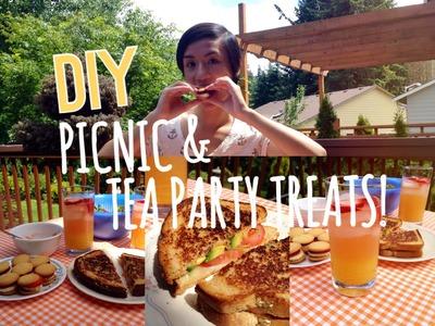 DIY Picnic and Tea Party Treats!