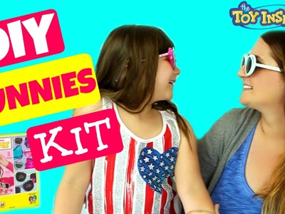 DIY SUNNIES KIT!  By Creativity Kids FROM Our June Toy Insider Surprise Box!