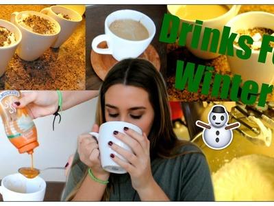 ♡ DIY Winter Hot Drinks ♡