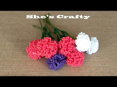 How To Crochet A Carnation