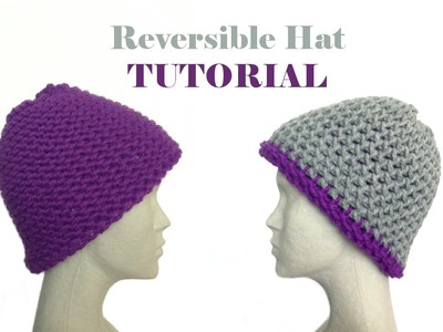 How to Loom Knit a Reversible Hat (DIY Tutorial)