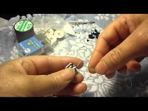 How to make a beaed bead cap i hpe you like a very niceone#3