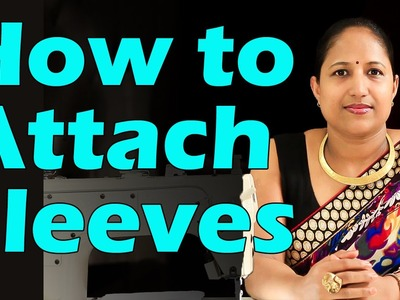 How to make a simple Kurti - Sewing sleeves and finishing the garment - Part 5