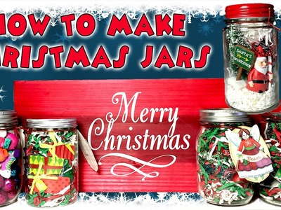 How to make CHRISTMAS HOLIDAY JARS | Kid Crafts | KidToyTesters