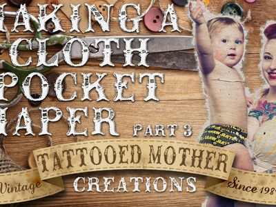 Making a Cloth Diaper - Part 3 Pinning and Sewing