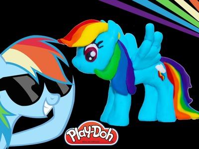 Rainbow Dash Play Doh My little Pony how to