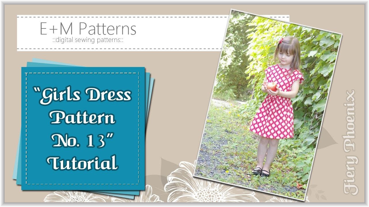 Sewing Girls Dress No.13 :: by Babs at Fiery Phoenix