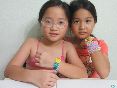 TUTORIAL - RAINBOW LOOMS: Even the kids are making it!