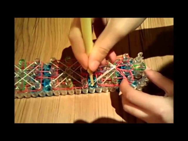 Ball Drop Rainbow Loom Bracelet -Original