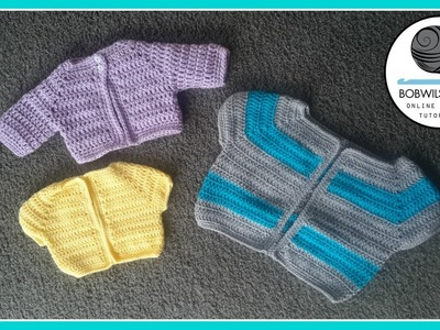 Cardigan Crochet Tutorial