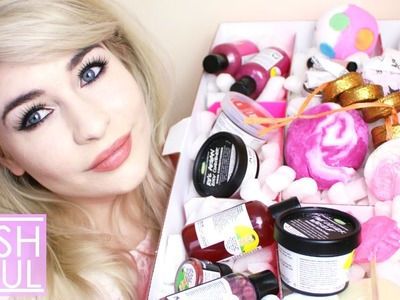 Christmas Lush Haul | Katie Snooks
