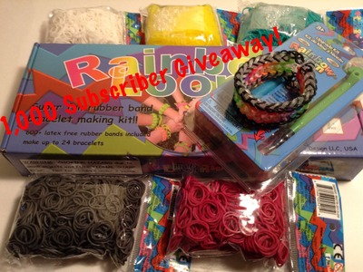 CONTEST CLOSED!!! Epic Bracelets Rainbow Loom Giveaway!