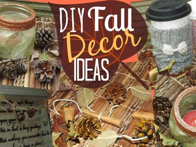 DIY Fall Decor Ideas!