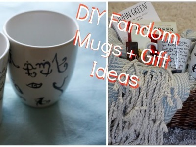 DIY Fandom Mugs and Gift Ideas  || The Fandom Holidays