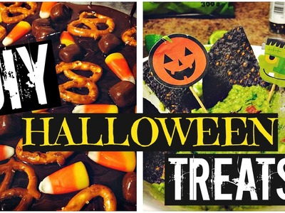 DIY Halloween Treats & Snack Recipes 2015