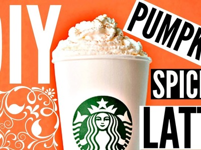 DIY Starbucks Drinks For Fall: Pumpkin Spice Latte