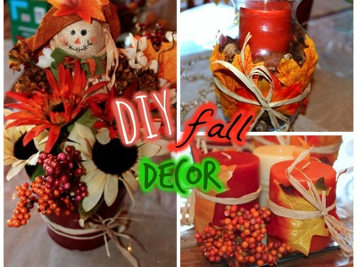 DOLLAR TREE DIY: Fall Decor