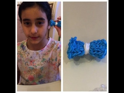 How to make Rainbow Loom Monster Tail Bow