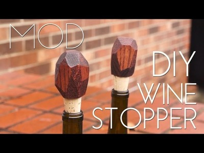 Mini MOD Monday: DIY Geometric Wine Stopper