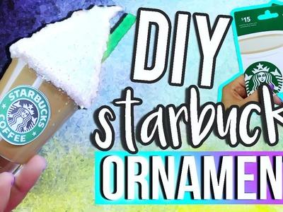 MINI STARBUCKS ORNAMENT ♥ DIY Holiday Gift Ideas for Christmas!