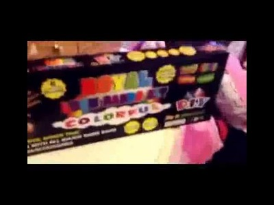 Rainbow Loom HD 2014 Royal loom band kit DIY New 2014