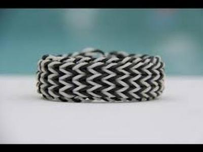 RainBow Loom Netherlands - visgraat, armband, monster tail