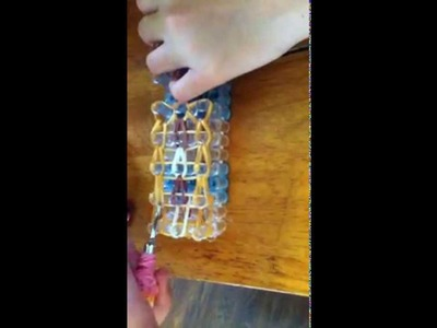 RAINBOW LOOM:  Pop Tart Charm Tutorial