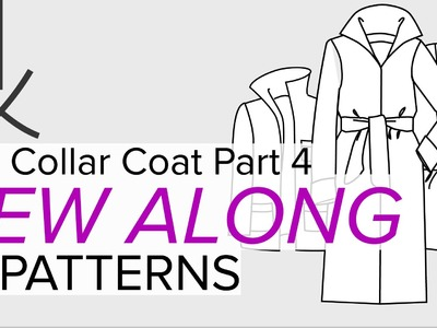 Sewing a Coat, A Sew Along. Part 4, Cutting Out the Fabric