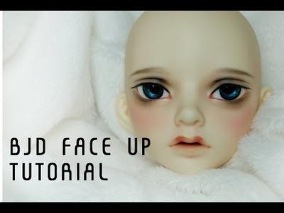 Bjd faceup tutorial 2
