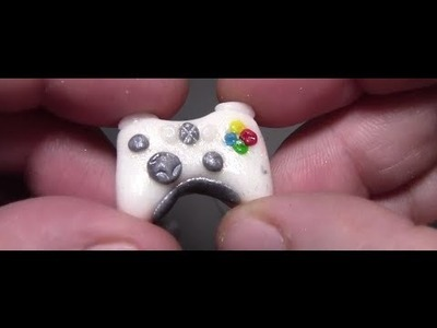Clay XBOX 360 Controller Charm- Tutorial