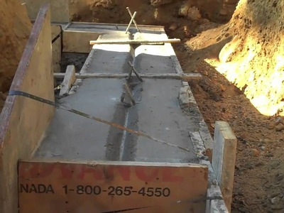 Concrete Footer Part 3