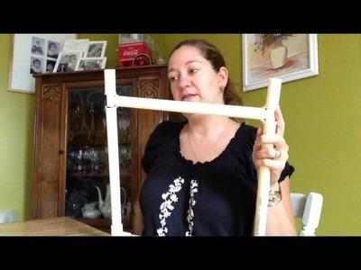Cross Stitch (Flosstube) #15 - DIY Lap Stand