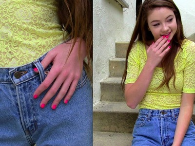 DIY: Affordable High Waisted Jean Shorts! (Part 1)